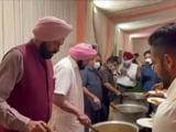 Video : <i>'Maharaj Ke Haath Ka Khana'</i>: Amarinder Singh Lays Out An Olympic Fare