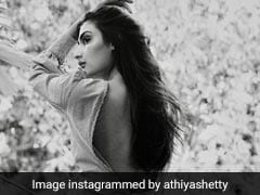 Athiya Shetty Is Making Many Heads Turn With Her Stylish Pinstriped Backless Shirt
