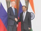Video : CIA Chief, Russian NSA In Delhi For Talks