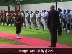 Australian Defence Minister Accorded Guard Of Honour At Vigyan Bhawan