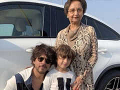 """Shah Rukh Khan's ROFL Reply To Gauri's Tweet: """"Need Dancing Lessons From Mom-In-Law"""""""