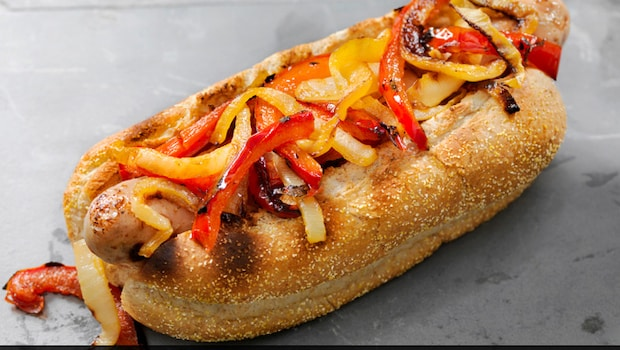 Chicken Hot Dog - Make This Classic Street Food In Less Than 10 Minutes