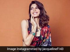 No Amount Of Floral Fun Comes Close To Jacqueline Fernandez's Fabulous Lehenga
