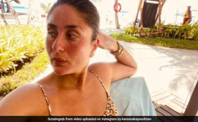The Many Moods Of Kareena Kapoor. This One Is A 'Post Lunch Stare' From Maldives