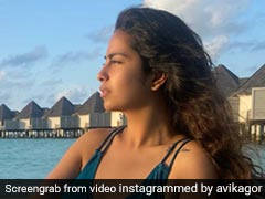 Every Moment In Maldives Is Beautiful For Avika Gor And Her Chic Bikinis