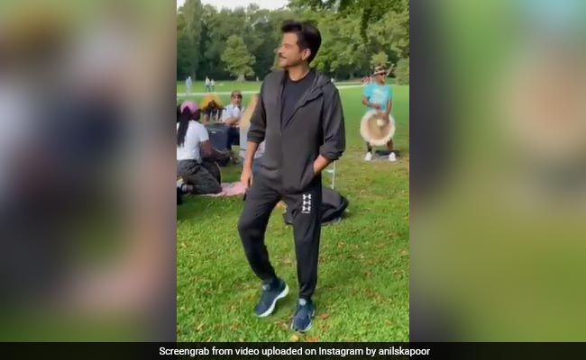 Here's Why Anil Kapoor Couldn't Help But Dance In A Park In Munich
