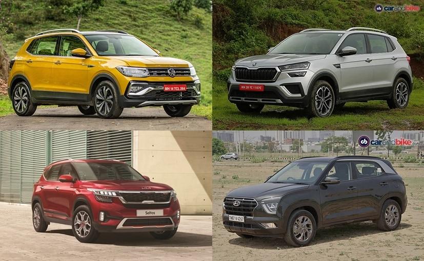 The VW Taigun mainly competes with the likes of Hyundai Creta, Kia Seltos and the Skoda Kushaq