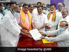 """Historical"": BJP Celebrates First Rajya Sabha MP From Puducherry"