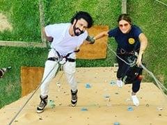 "Vidyut Jammwal Confirms Engagement To Nandita Mahtani With ROFL Post: ""Did It The <I>Commando</i> Way"""