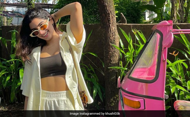 Khushi Kapoor's 'Happy Place' Looks Like This