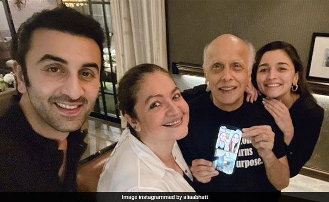 Alia Celebrates Dad Mahesh Bhatt's 73rd Birthday With Boyfriend Ranbir Kapoor