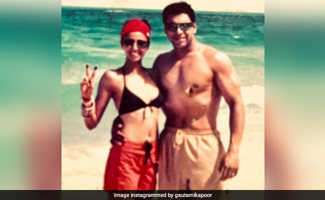 Ram Kapoor And Wife Gautami In A Major Throwback Pic From 2003. 'Oh My God,' Says The Internet