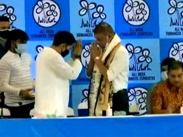Video : Former Goa CM Joins Trinamool, Talks Of Uniting Congress Offshoots