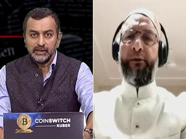 """Video : """"Emboldened By Government"""": Asaduddin Owaisi On Vandalism At Home"""
