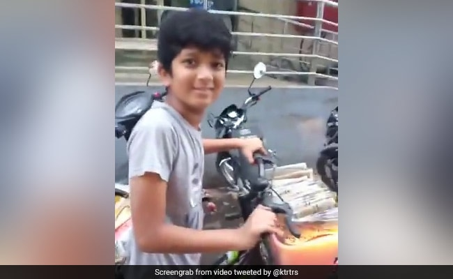 , Telangana Minister KTR On Viral Video Of 12-Year-Old Newspaper Boy, The World Live Breaking News Coverage & Updates IN ENGLISH
