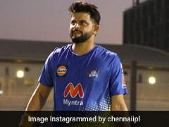 """Watch: Suresh Raina's """"Dhueindar"""" Six During CSK Practice Ahead Of IPL 2021 In UAE"""