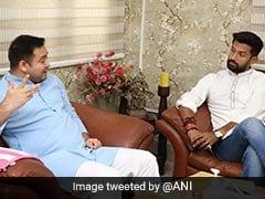 """As Chirag Paswan Meets Tejashwi Yadav, """"Appointment"""" Dig At Nitish Kumar"""
