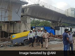 Under-Construction Flyover Collapses In Mumbai's Bandra, 14 Injured
