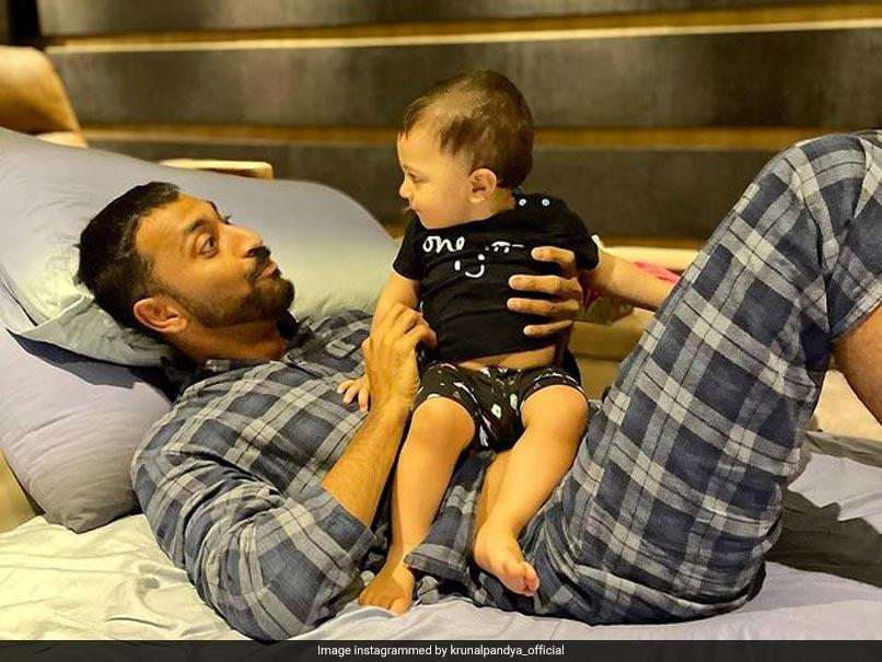 """Where Is KP?"": Krunal Pandya Shares Adorable Video Of Playtime With Nephew Agastya. Watch"