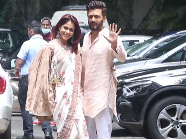 Video : Hello There, Riteish Deshmukh And Genelia D'Souza