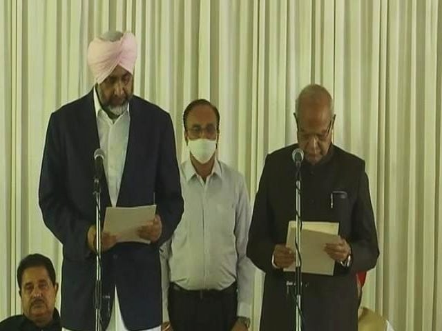 Video : Punjab's New Chief Minister Gets His Pick In Expanded Cabinet