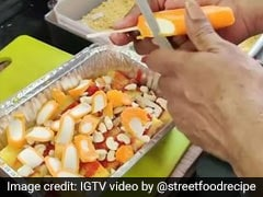 Only In India: Bizarre Ice Cream Chaat Made With Mango Dolly Has Gone Viral