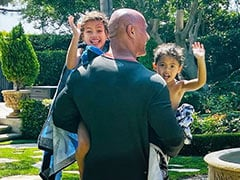 """Dwayne Johnson's Dad Life: What Daughters' """"Fun Pool Day"""" Translates To"""