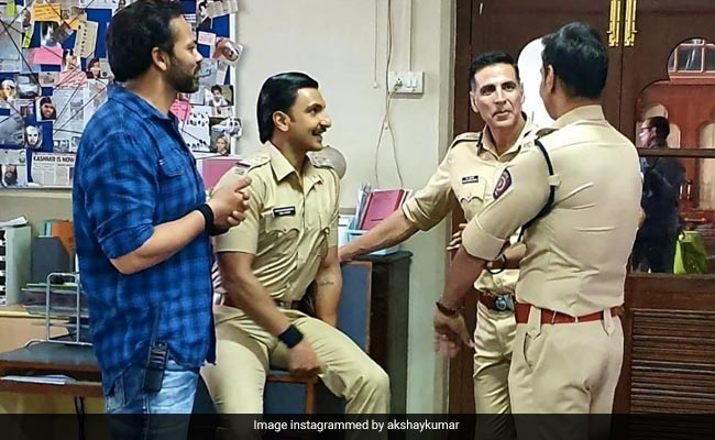 Not In Real Life: Cop On Akshay, Ajay, Ranveer Pic. Actor's Response