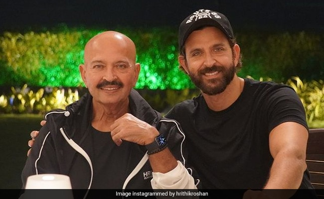 In Birthday Post For Rakesh Roshan, Hrithik Roshan Reveals 'The Best Part About Being His Son'