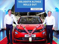 Tata Altroz Reaches New Production Milestone Of 100,000 Units In India
