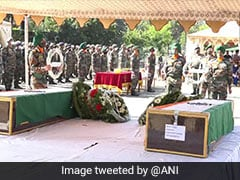 J&K Helicopter Crash: Army Pilot Cremated With Full Military Honours
