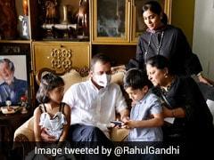 """True Soldier"": Rahul Gandhi's Tribute To ""Friend, Guide"" Oscar Fernandes"