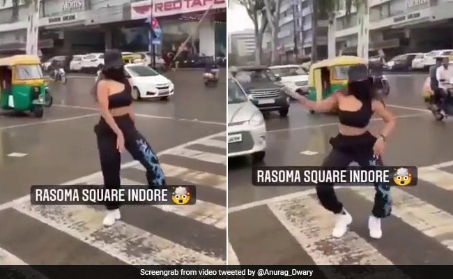 Indore Woman In Trouble For Dancing On Road For Instagram Video