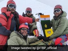 Indo-Tibetan Border Police Team Conquers Balbala Peak In Uttarakhand