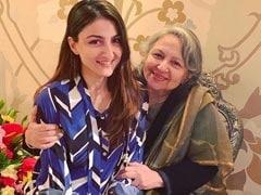 Soha Ali Khan And Mother Sharmila Tagore Play Scrabble. Guess Who Won