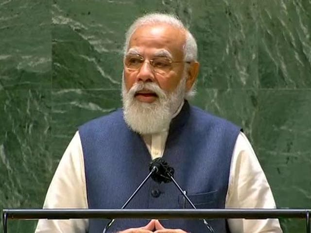 """Video : """"4th UN Speech Of Little Boy Who Used To Help Father At Tea Stall"""": PM"""