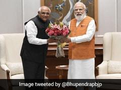 Gujarat Chief Minister Bhupendra Patel Meets PM, President In Delhi