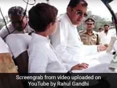 "Rahul Gandhi Recalls Father Rajiv Gandhi's Love For Flying, ""Big Regret"""