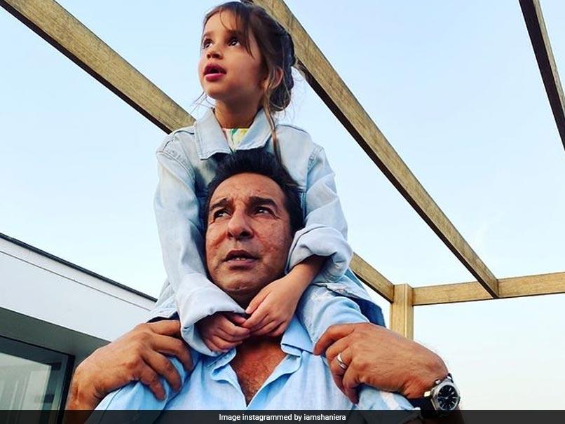 "Watch: Wasim Akram Meets His Daughter After Being ""10 Months Apart"""