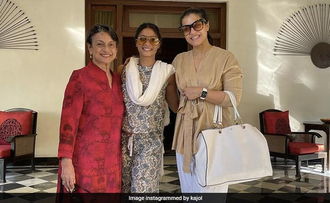 Pic From Kajol, Tanishaa Mukerji And Tanuja's 'Best Holiday Together So Far'