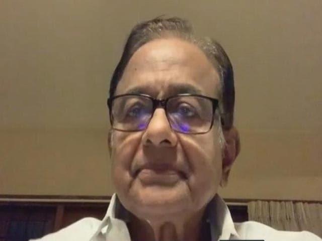 Video : P Chidambaram On Centre's Economic Measures During Pandemic