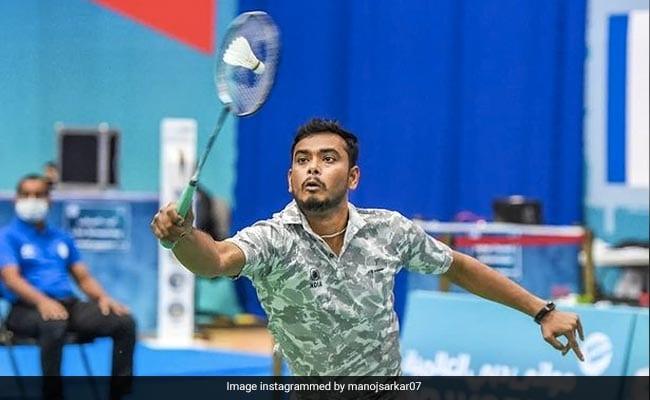 Manoj Sarkar wins bronze in badminton mens singles in Tokyo Paralympics