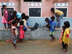 In Bengal Village, Teacher Turns Walls Into Blackboards To Close Digital Gap