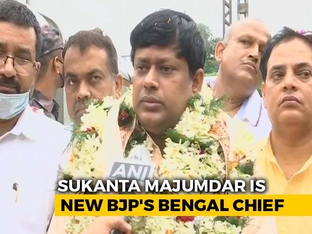 Video : Sukanta Majumdar Replaces Dilip Ghosh As BJP's Bengal Chief