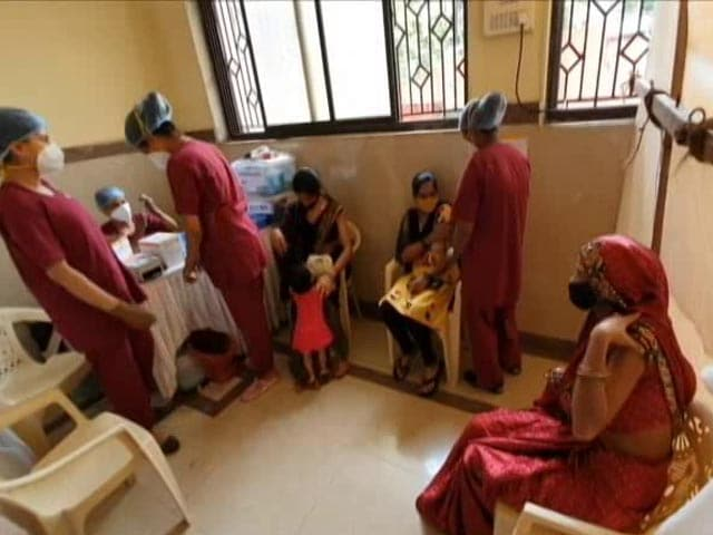 Video : Mumbai's Woman-only Covid Vaccination Drive