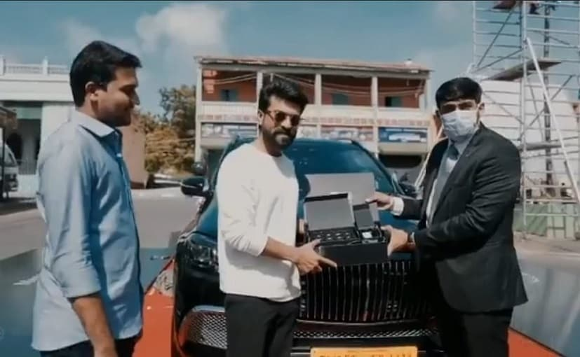 Actor Ram Charan Brings Home The Mercedes-Maybach GLS 600