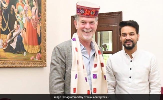 Anurag Thakur's Gift To Netflix Co-Founder: The Bhagavad Gita