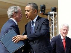 Bush, Clinton, Obama Band Together To Help Afghan Refugees