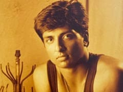 """A """"Historic Pic"""" From Sonu Sood's First Portfolio. Apparently, It Got Him <I>Happy New Year</i>"""