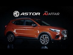 New MG Astor Compact SUV: Engine Specifications & Tech Explained